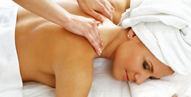 Masajes para la mujer con estrés