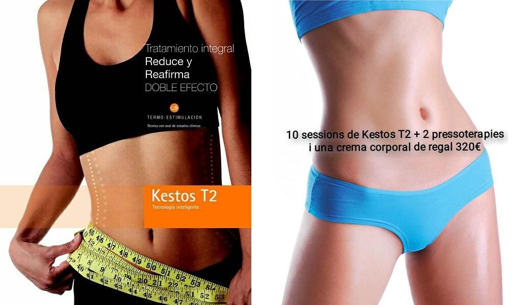 Promocion Tratamiento integral reduce y reafirma KESTOS T2